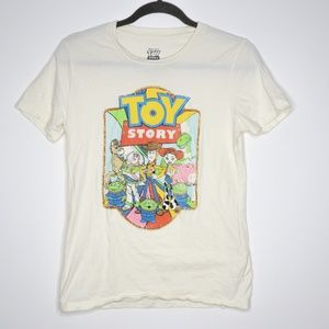 Disney | Toy Story Crew Neck Graphic Tee L